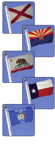 State Flag - Outdoor and Indoor Styles Available